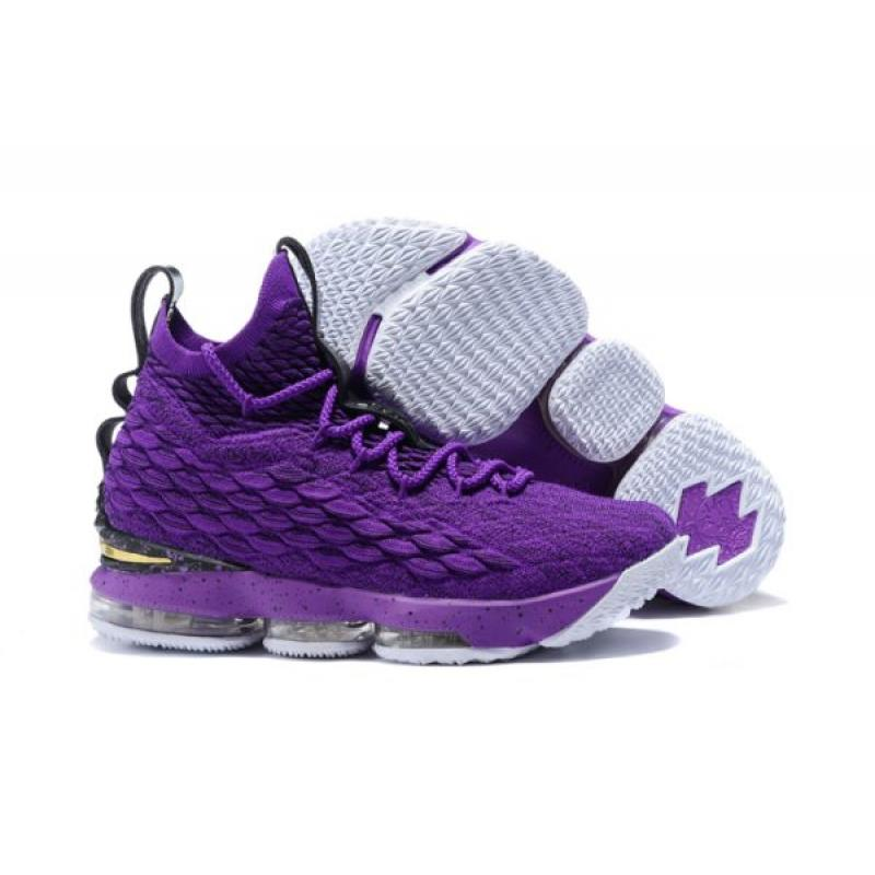brand new f1eab 5e106 Nike LeBron 15 Purple Black New Year Deals