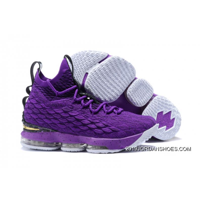 36c9bb06c47 ... low cost nike lebron 15 purple black white where to buy f6cf9 2fbb5