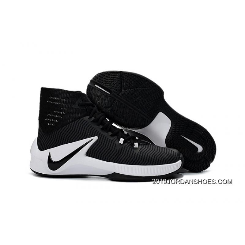 factory authentic 11218 8847b ... spain nike zoom clear out black white basketball shoes 2019 best 51910  9528e