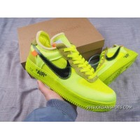 2020 For Sale Men OFF-WHITE X Nike Air Force 1 Basketball Shoes SKU:141961-468
