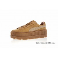 Women Shoes Details Version Rihanna X Puma Fenty Suede Cleated Creeper Flatform Sneakers Michael Brown In 366268-02 Big Deals
