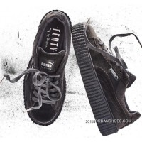 Online Puma By Rihanna Suede Creepers Grey Mens Womens Shoes