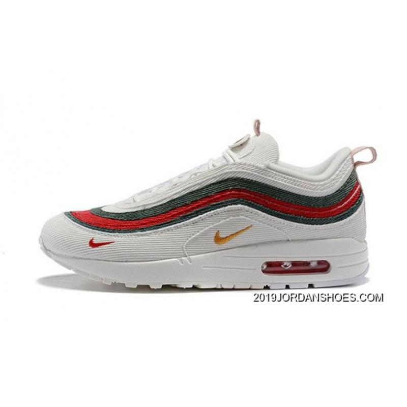timeless design b5f15 c9d40 New Year Deals Women Sean Wotherspoon Nike Air Max 97 Hybrid SKU:67385-271