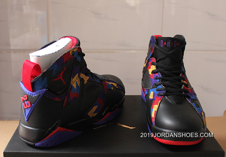 "Air Jordan 7 ""Nothing But Net"" 2019 New Style"