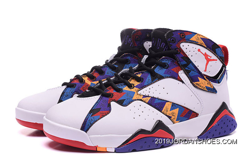 "95be22a3177a71 Air Jordan 7 GS ""Nothing But Net"" 2019 Best"