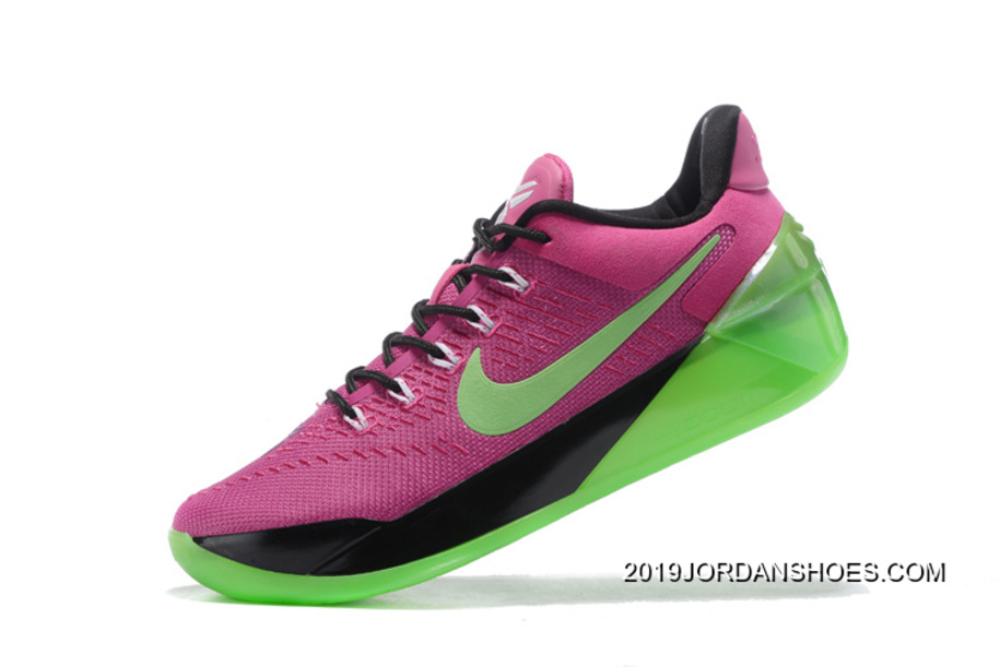the best attitude e696e 368d2 Girls Nike Kobe A.D. Pink Green Black 2019 For Sale