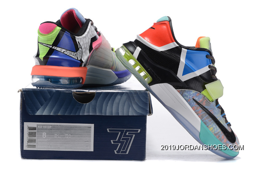 b99ea0967212 ... get 2019 outlet nike kd 7 what the multi color horizon black 1df36  fa950 ...
