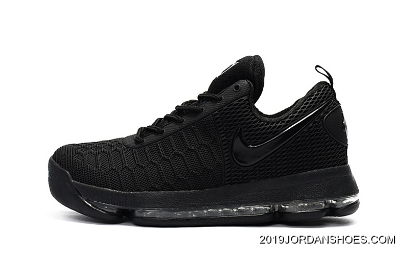 best service a7fd5 fb3f8 Nike KD 9 All Black Basketball Shoes 2019 Outlet