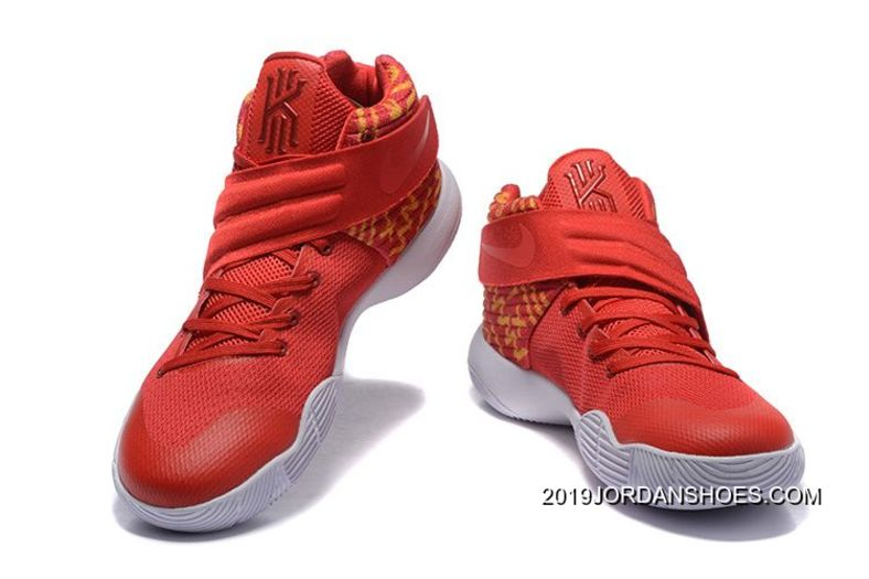 premium selection d8c74 a3173 Nike Kyrie 2 Red White Basketball Shoes 2019 Top Deals