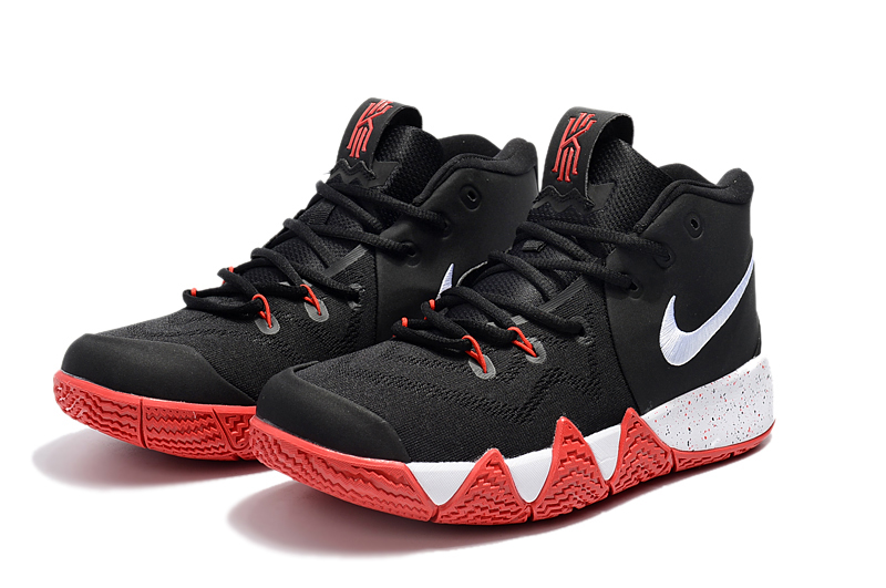 info for 2e359 6543d New Release Nike Kyrie 4 Black/Red-White