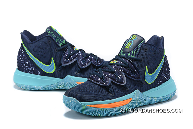 f3ad551038b4 For Sale Nike Kyrie 5 Navy Blue Blue