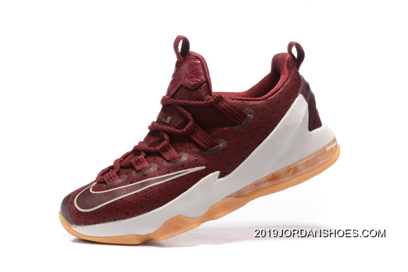 new arrival 4cb11 49dd5 ... germany nike lebron 13 low cavs team red sail black 2019 new release  8afaf 9568a ...
