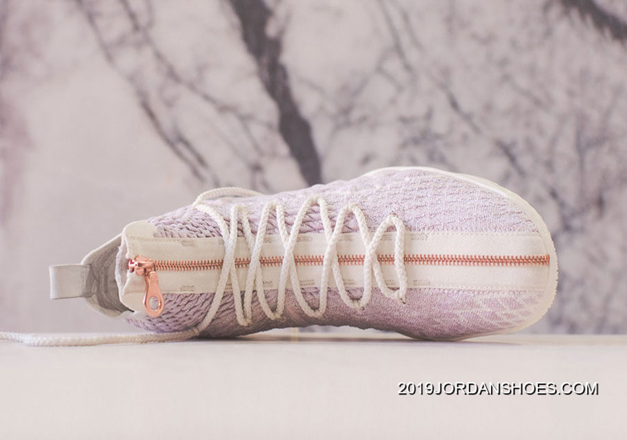 "61705a17b8be KITH X Nike LeBron 15 ""Rose Gold"" For Sale"